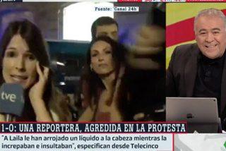 Ferreras nunca pide perdón: así utiliza el acoso brutal a las reporteras el 1-O para justificar la bobada de su reportero
