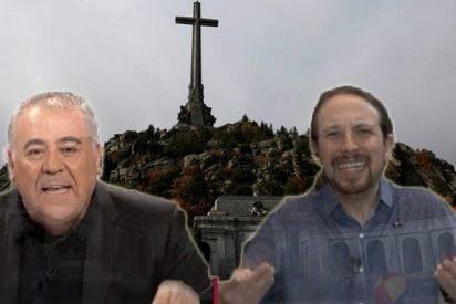 Tremenda trifulca en la exhumación de Franco: el Partido Comunista y Pablo Iglesias se lanzan a por laSexta acusándoles de ser unos montajistas de tomo y lomo