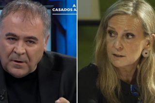 """laSexta denuncia """"violencia policial"""" en Cataluña e Isabel San Sebastián estalla ante Ferreras: """"dais asco"""""""