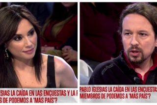 El Quilombo / El glorioso momento en el que un harto Pablo Iglesias insinúa que Marta Flich es gilip*****