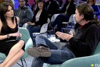 Un afligido Pablo Iglesias indulta a medias a Marta Flich al tener constancia del aluvión de críticas que le han caído por su mamarrachada supina del sofá