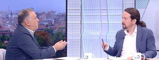 Iglesias descubre a pocos días del 10-N que TVE ya no es territorio amigo porque Xabier Fortes hace tiempo que tomó partido por los socialistas
