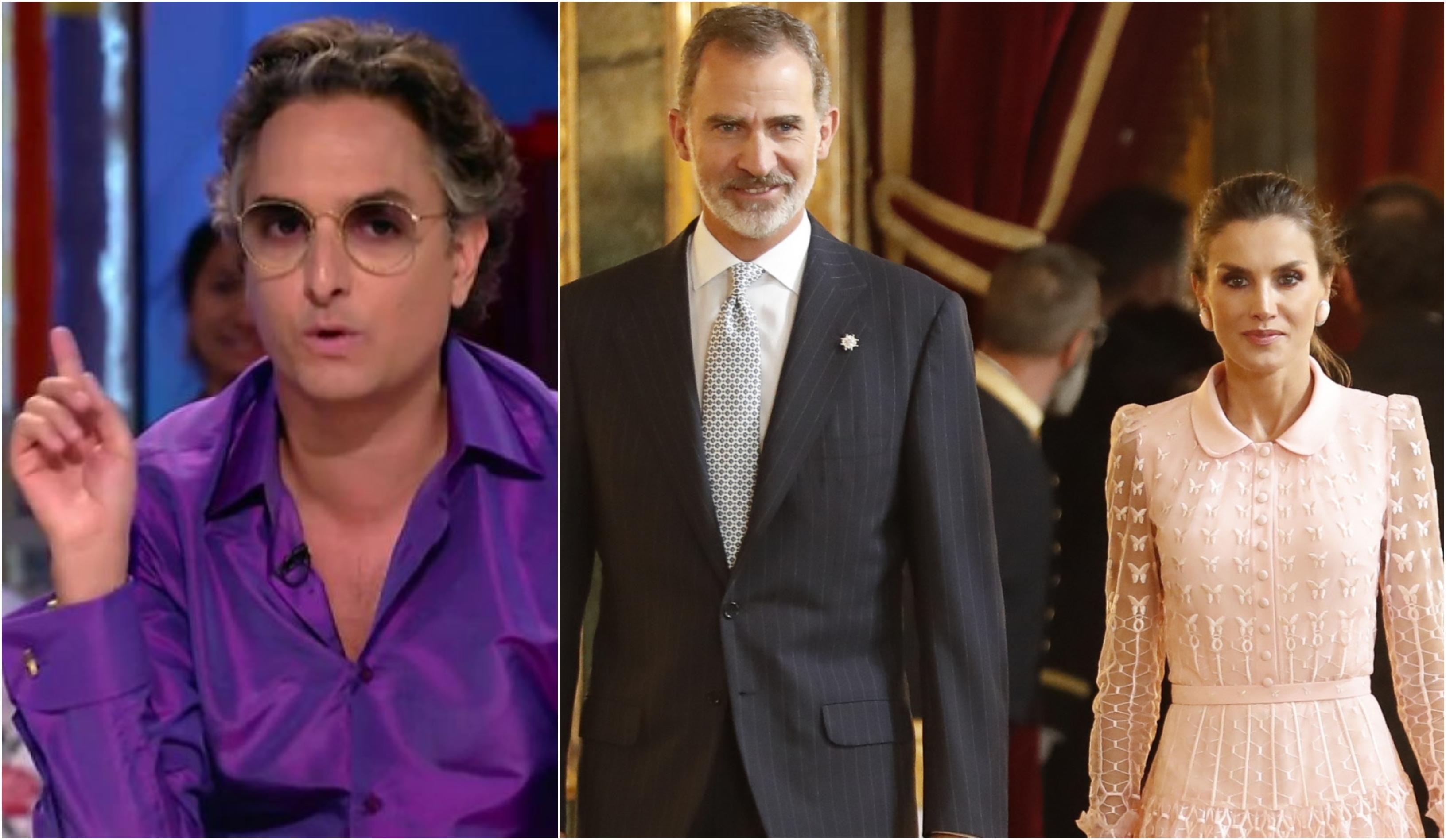 """Los retoques de la reina Letizia o cómo 'hacerle un traje' en Zapeando: """"Está muy bien hecha gracias a la ayuda de los quirófanos"""""""