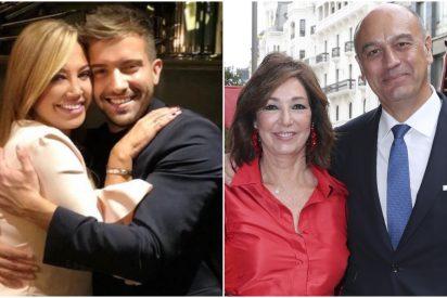 Todo al rojo: la boda gay que unió para siempre a Belén Esteban, Ana Rosa Quintana y Pablo Alborán