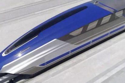 China va a fabricar este tren de levitación magnética capaz de alcanzar los 1.000 km/h
