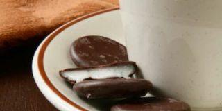 Galletas veganas de chocolate y menta,