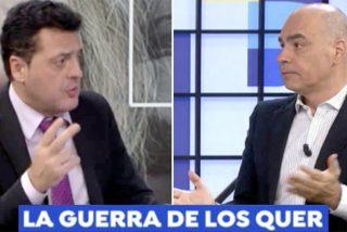 """Trifulca en el plató de 'Espejo Público' entre el psicólogo que inspiró a Juan Carlos Quer y Nacho Abad: """"¿Para qué me habéis traído aquí?"""""""