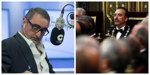 """Carlos Herrera deja al Supremo con el c*** al aire: """"A los de la Gürtel les cayeron los mismos años que al golpista Junqueras por un stand en Fitur"""""""