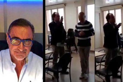 """Carlos Herrera carga con toda su rabia contra el pirado 'catabatasuno' de Santiago Espot: """"¡Es un pobre imbécil pero un fascista peligroso!"""""""