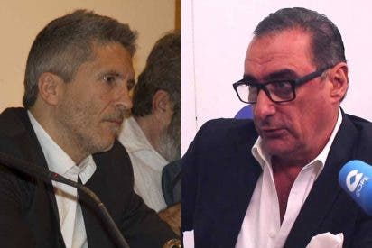 """Carlos Herrera no perdona a Marlaska su último desdén a la Guardia Civil: """"Ya sabía que asomaría la patita después de un discurso impecable"""""""