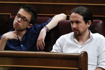 Una conversación 'oculta' de Twitter entre Errejón e Iglesias adelanta su pelea y trágico final