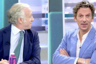 Pelea estética entre Inda y Joaquín Prat, enfrentados por ver quién lleva el peor pelo