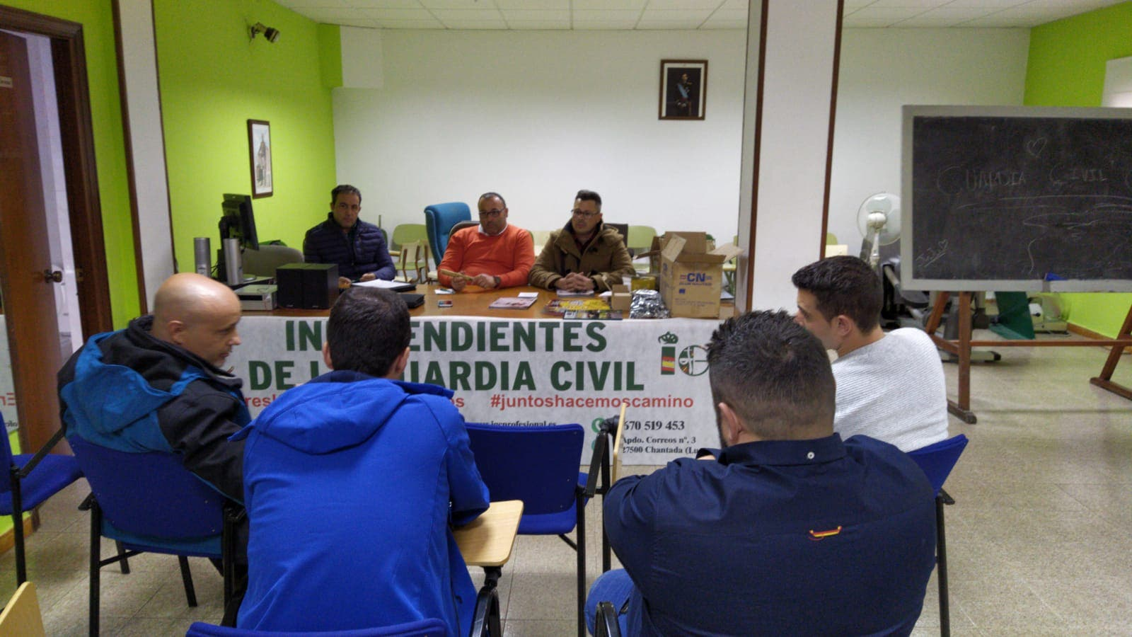 Asamblea en Lugo de Guardias Civiles de Independientes de la Guardia Civil --IGC-