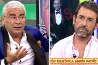 """Bronca sin precedentes entre Jorge Javier Vázquez y Jesús Manuel en 'Sálvame': """"No me vas a tocar los coj**"""""""
