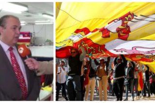 El fabricante de la bandera de España más grande de la historia: