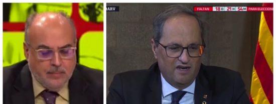 """El Quilombo / Pánico en La Vanguardia: ve peligrar su negocio y pide la cabeza de Torra, """"el mayor inepto que ha gobernado Cataluña"""""""