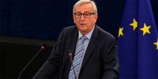 """Juncker se despide de los eurodiputados con una nítida referencia a Cataluña: """"Combatan a los nacionalismos estúpidos"""""""