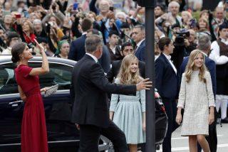Estalla Casa Real: grave incidente a gritos entre Doña Letizia y la Reina Sofía en Asturias por culpa de una foto