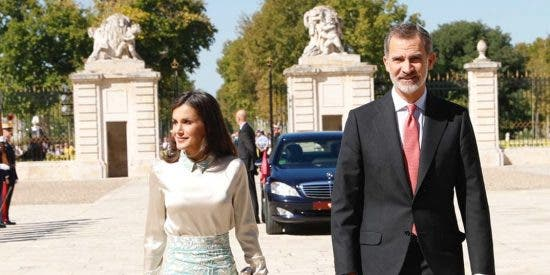 Reyes Felipe y Letizia - Palacio Real de Aranjuez © Casa S.M. El Rey