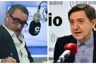 """Losantos suelta un guantazo a la COPE por su feliflua postura con la momia de Franco: """"No sé qué le habrán dicho a Carlos Herrera que diga"""""""