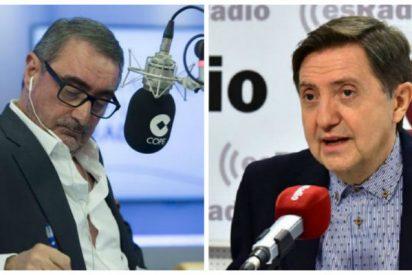 """Losantos suelta un guantazo a la COPE por su cobarde postura con la momia de Franco: """"No sé qué le habrán dicho a Carlos Herrera que diga"""""""