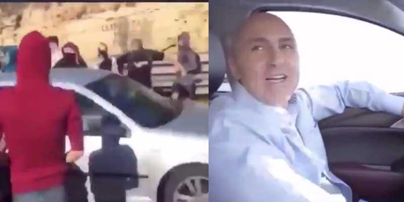 ¿Qué se toman en Cataluña? Acusan a Maldini de haber estado a punto de atropellar a un grupo de CDR que cortaron la carretera