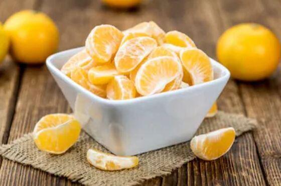 Propiedades las mandarinas