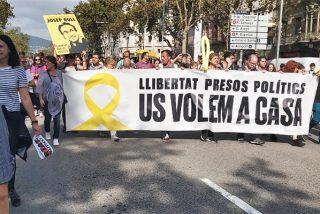 """Ahí tienen a los 'indepes' reventados por la sentencia del procés: """"¡Caña, caña, caña contra España!"""""""