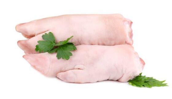 manitas de cerdo guisadas