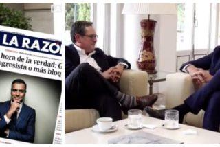 """Marhuenda olvida a Rajoy enamorándose de Pedro Sánchez: """"A mí nunca me ha engañado"""""""