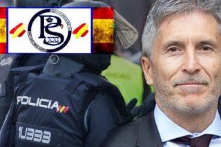 Pillan al ministro Marlaska cenando en un bar de copas, mientras arde Barcelona