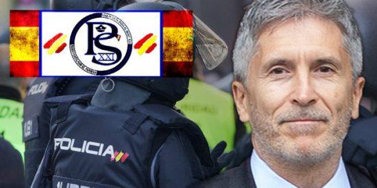 La Policía Nacional acorrala al taimado Marlaska y le exige que se pronuncie ante el último entreguismo de Sánchez e Iceta a los golpistas