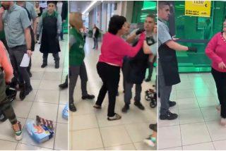 Detenida: un juez manda a prisión a la ladrona que además agredió a empleados de Mercadona