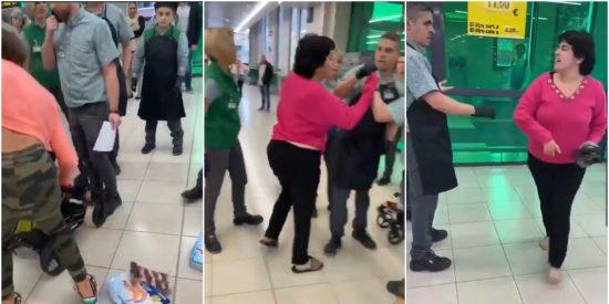 Ladrona: el juez manda a prisión a la gitana que además agredió a empleados de Mercadona