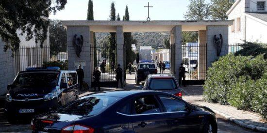 Francisco Franco ya está enterrado en el cementerio de Mingorrubio