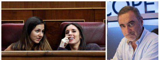 """Herrera aplasta a Montero por poner en la diana a la dueña de un piso para que no suba el alquiler a una familia: """"Mételos en tu chalet de Galapagar"""""""
