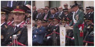 El jefe de la Guardia Civil en Cataluña le suelta cuatro verdades a los mediotínticos mandos de los Mossos y estos acaban yéndose de un acto oficial