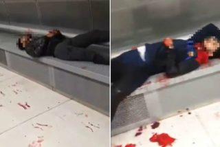 La mafia paquistaní toma Barcelona: terrible vídeo con un muerto en el Metro y decenas de heridos