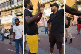 """Insultos y amenazas en plena calle contra Bertrand Ndongo (Vox) en Alcorcón: """"¡Te tendría que arrancar la cabeza!"""""""