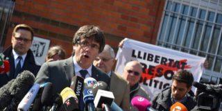 Puigdemont se entrega a la Policía belga e 'incendia' la huelga general independentista