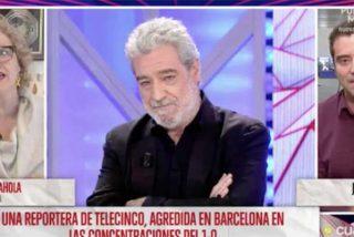 """La Rahola no soporta que Javier Negre la acuse de """"blanquear el terrorismo"""" y huye como alma en pena del programa de Risto Mejide"""