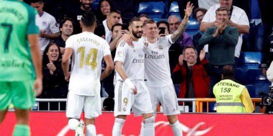 El mejor Real Madrid de la temporada logra una contundente goleada ante el Leganés
