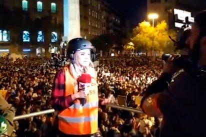 """Risto Mejide 'cambia de chaqueta' y llama """"escoria"""" a los radicales independentistas tras la agresión a una reportera de 'TEM'"""