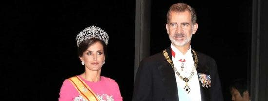 Reyes Felipe y Letizia - Cena gala Emperador Naruhito © Casa S.M. El Rey