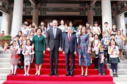 Viaje de Estado de los Reyes Felipe y Letizia a la República de Corea © Casa S.M. El Rey
