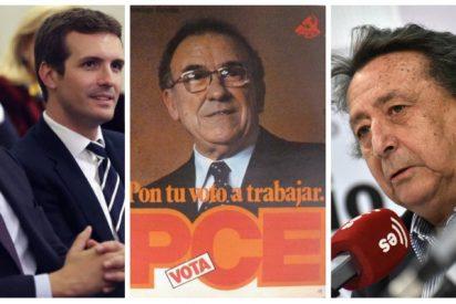 """Alfonso Ussía rompe relaciones electorales con el PP y Ciudadanos por acobardarse con el """"genocida"""" Santiago Carrillo"""