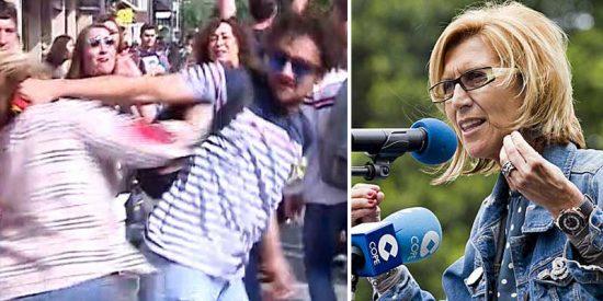 Rosa Díez zurra al 'femi-nazismo' oficial por su silencio con las agresiones de 'indepes' a varias mujeres
