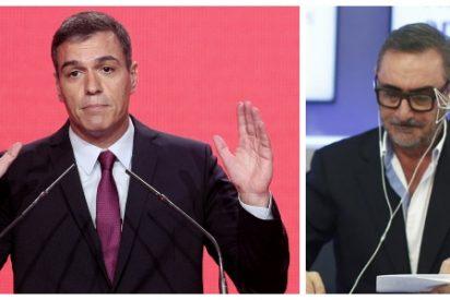 """Carlos Herrera llama """"insensato sin escrúpulos"""" a Sánchez y lanza un bestial ataque a 'El País': """"Son agitadores al servicio de la causa"""""""