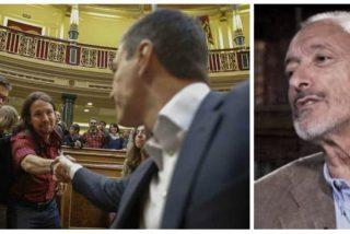 """Supremo mandoble de Reverte al """"trilero"""" Sánchez y con recadito de propina para Iglesias y Errejón"""