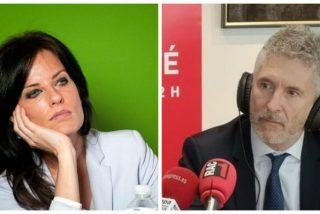 Cristina Seguí coge por el cuello al 'hambriento' Marlaska y le recuerda las penosas condiciones alimentarias de su propia Policía desplazada en Cataluña